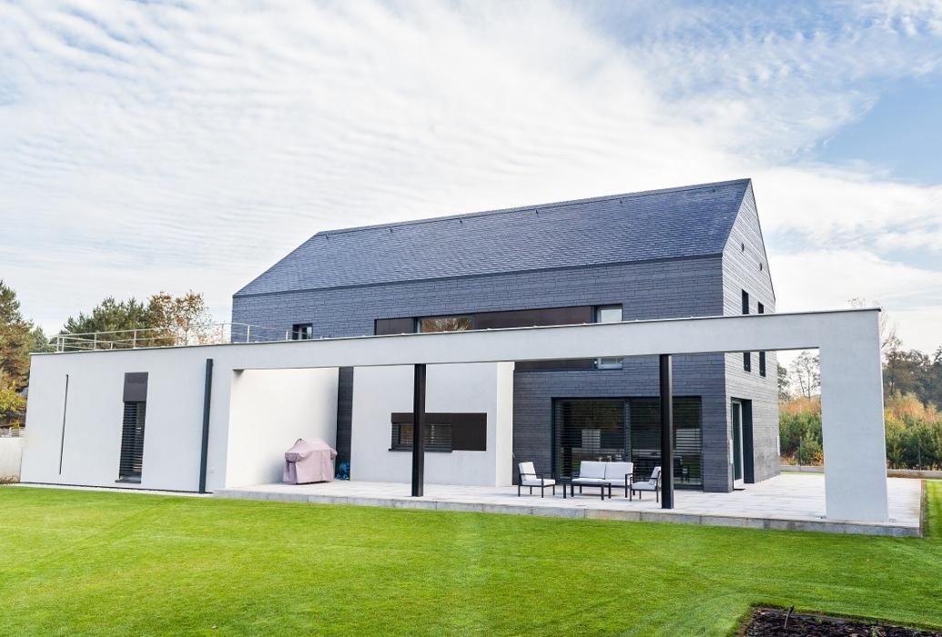 Dom w stylu klasycznej stodoły